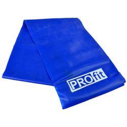Profit, Taśma treningowa, Long Medium DK 2227, niebieski, 200x15x0,45 cm - Profit  Pozostałe