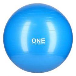 One Fitness, Piłka gimnastyczna, GB10, niebieski, 55 cm - One Fitness  Pozostałe
