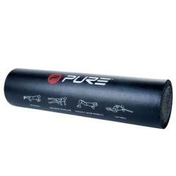 Pure2Improve Wałek treningowy, 60x15 cm, czarny - Pure2Improve  Pozostałe