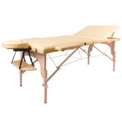 inSPORTline, Łóżko do masażu Japane, żółty, 216x94 cm - inSPORTline  Pozostałe