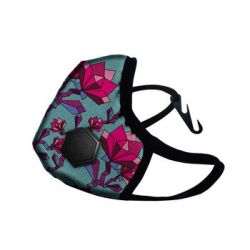 Maska antysmogowa ochronna Floral Pink Casual II Dragon - M - DRAGON  Sport i Turystyka