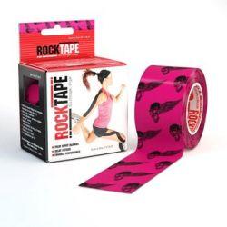 RockTape- (5cm x 5m) - Różana czaszka | Sport i Turystyka