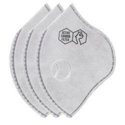 Filtr N99 z aktywnym węglem do maski Sport II AC 3-pak Dragon - M/L - DRAGON  Sport i Turystyka