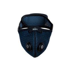 Broyx, Maska antysmogowa, Sport Alfa U (SPORT-ALFA-NAVY-BLUE), granatowy, rozmiar M - Broyx  Sport i Turystyka