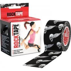 RockTape - (5cm x 5m) - Czarna Czaszka   Sport i Turystyka