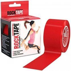 RockTape - (5cm x 5m) - Czerwona   Sport i Turystyka