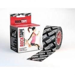 RockTape - (5cm x 5m) - Czarne logo   Sport i Turystyka