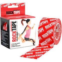RockTape - (5cm x 5m) - Czerwone logo | Sport i Turystyka