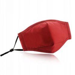 Tokyo Mask, Sportowa maska ochronna antysmogowa + filtr HEPA N99, czerwony - Tokyo Mask  Sport i Turystyka