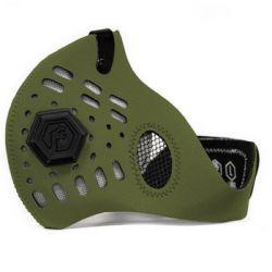 Maska antysmogowa sportowa ochronna Army Green Sport II Dragon - S - DRAGON  Sport i Turystyka