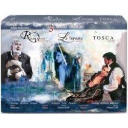 Rigoletto/La Traviata/Tosca (brak polskiej wersji językowej) ( Blu-ray Disc) -