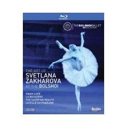 The Art of Svetlana Zakharova at the Bolshoi (brak polskiej wersji językowej) ( Blu-ray Disc) -