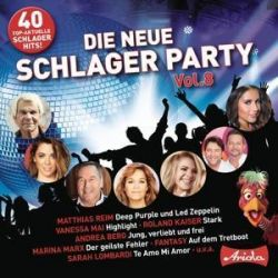Die neue Schlagerparty Vol.8 - Various Muzyka i Instrumenty