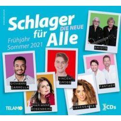 Schlager für Alle-Die Neue:Frühjahr/Sommer 2021 - Various Muzyka i Instrumenty