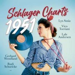 Schlager Charts 1951, 1 Schallplatte - Various Animowane