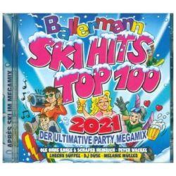 Ballermann Ski Hits Top 100 2021 - Various Muzyka i Instrumenty