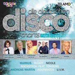 Die Deutschen Disco Charts Folge 5 - Gold Solid Radio Hits Muzyka i Instrumenty