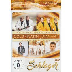 Schlager-Gold-Platin-Dia - Calimeros, Die Amigos, Andy Borg, Stefan Mross, Robin Leon Muzyka i Instrumenty