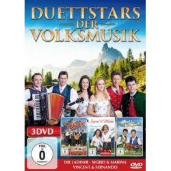 Various: Duett-Stars der Volksmusik - Various, Die Ladiner, Sigrid & Marina, Vincent & Fernando Muzyka i Instrumenty