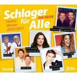 Schlager für Alle-Die Neue-Herbst/Winter 20/21 - Various Muzyka i Instrumenty