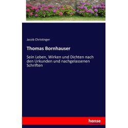Thomas Bornhauser - Jacob Christinger Książki i Komiksy