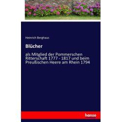 Blücher - Heinrich Berghaus Książki i Komiksy