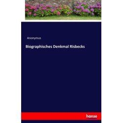 Biographisches Denkmal Risbecks - Anonymus Książki i Komiksy