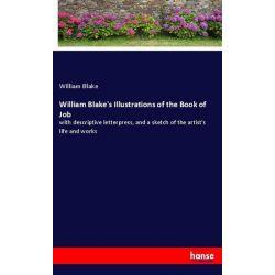 William Blake's Illustrations of the Book of Job - William Blake Książki i Komiksy