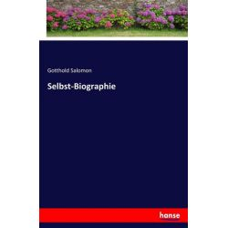 Selbst-Biographie - Gotthold Salomon Książki i Komiksy
