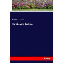 Christianens Denkmal - Hermann Gundert Książki i Komiksy