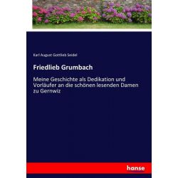 Friedlieb Grumbach - Karl August Gottlieb Seidel Książki i Komiksy