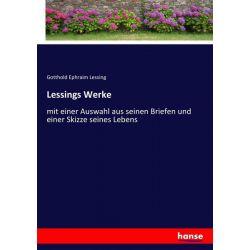 Lessings Werke - Gotthold Ephraim Lessing Książki i Komiksy