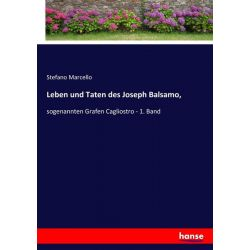 Leben und Taten des Joseph Balsamo, - Stefano Marcello Książki i Komiksy