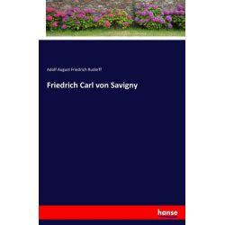Friedrich Carl von Savigny - Adolf August Friedrich Rudorff Książki i Komiksy