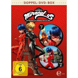 Miraculous 7+8 - Geschichten von Ladybug und Cat Noir - Die DVD zur TV-Serie [2 DVDs] Pozostałe