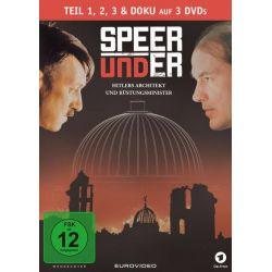 Speer und Er [3 DVDs] - Tobias Moretti, Sebastian Koch, Dagmar Manzel, Susanne Schäfer Pozostałe