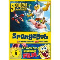 SpongeBob Schwammkopf - Der Film & Schwamm aus dem Wasser [2 DVDs] Filmy