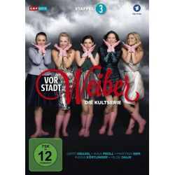 Vorstadtweiber - Staffel 3 [3 DVDs] - Nina Proll, Maria Köstlinger, Martina Ebm, Adina Vetter Filmy