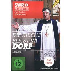 Die Kirche bleibt im Dorf - Staffel 4 [2 DVDs] - Karoline Eichhorn, Rainer Piwek, Franziska Küpferle, Christian Pätzold, Meike Kircher Filmy