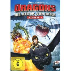 Dragons - Die Reiter von Berk - Staffel 1 / Vol. 1-4 [4 DVDs] Filmy