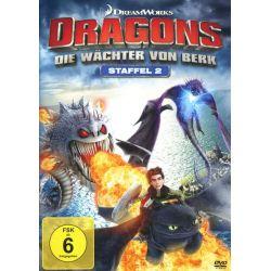 Dragons - Die Wächter von Berk - Staffel 2/Vol. 1-4 [4 DVDs] Filmy