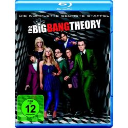 The Big Bang Theory - Staffel 6 [2 BRs] - Jim Parsons, Johnny Galecki, Kunal Nayyar, Simon Helberg, Kaley Cuoco-Sweeting Filmy