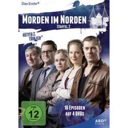 Morden im Norden - Staffel 2 [4 DVDs] - Sven Martinek, Tessa Mittelstaedt, Marie-Luise Schramm, Ingo Naujoks, Veit Stübner Filmy