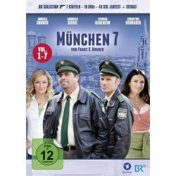 München 7 - Vol. 1-7 Collection [19 DVDs] - Andreas Giebel, Florian Karlheim, Dorothee Hartinger, Luise Kinseher, Christian Lerch Filmy
