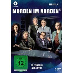 Morden im Norden - Die komplette Staffel 4 [4 DVDs] - Jürgen Uter, Ingo Naujoks, Veit Stübner, Tessa Mittelstaedt, Marie-Luise Schramm Filmy