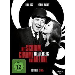 Mit Schirm, Charme und Melone - Edition 1 [8 DVDs] - Diana Rigg, Patrick MacNee Filmy