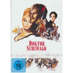 Doktor Schiwago (2 DVDs) - Filmklassiker - Geraldine Chaplin, Omar Sharif, Alec Guinness, Julie Christie, Rod Steiger Filmy