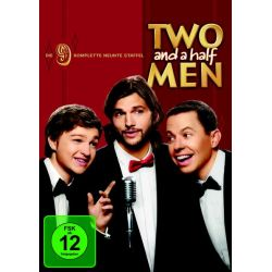 Two and a Half Men - Staffel 9 [3 DVDs] - Ashton Kutcher, Jon Cryer, Angus T. Jones, Marin Hinkle, Conchata Ferrell Filmy