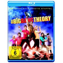 The Big Bang Theory - Staffel 5 [2 BRs] - Jim Parsons, Johnny Galecki, Kunal Nayyar, Simon Helberg, Kaley Cuoco-Sweeting Filmy