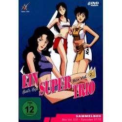 Ein Supertrio - Cat's Eye/Box 2 [6 DVDs] Filmy